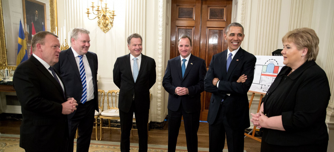 Nordic Leaders and President Obama, May 13, 2016 (WH Official Photo, Chuck Collins)