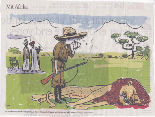 Satirical Illustration from Politiken