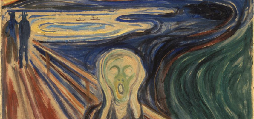"Edvard Munch, ""The Scream"" (1893)"