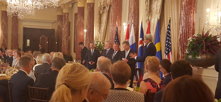 Secretary Kerry and Nordic Leaders (Photo, Nestingen)