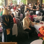 The main dining hall at the University of Washington Club filled up with over 150 guests!