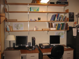 Former Shelves and Workspace 108 B