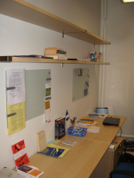 Improved Shelves and Workspace 108 C