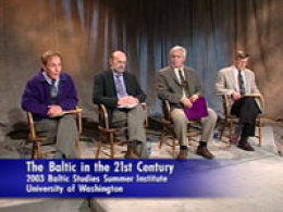 "Panelists appearing in ""The Baltic in the 21st Century"""
