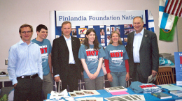 UW staff and students at Finn Fest 2006