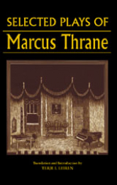 Book cover for the Selected Plays of Marcus Thrane