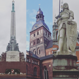 "10. ""Monuments of Riga"" (Latvia)"