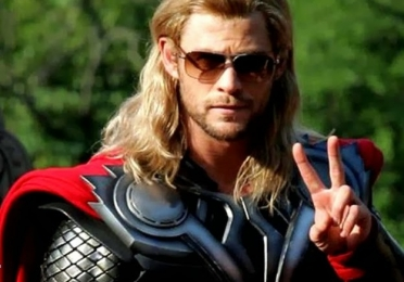 Marvel's Thor with Sunglasses