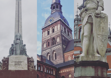 """Monuments of Riga"" (Latvia)"