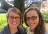 Assistant Professor Olivia Gunn and PhD Student Liina-Ly Roos