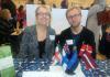 Professor Marianne Stecher and Lecturer Ilmari Ivaska
