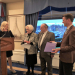 Recognition ceremony for Georg and Nina Pedersen